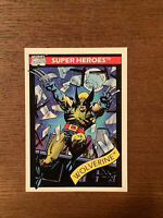 1990 Wolverine Marvel Universe Series 1 Card #23 IMPEL