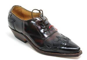 71 Western Cowboystiefel Line Dance Catalan Leder Westernschuh Prime Boots 38