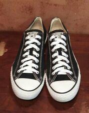 Converse Chuck Taylor ALL STAR WOMEN'S shoes CANVAS BLACK Low SIZE 11 (men 9)