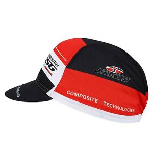 Breathable Cycling Hat Quick-dry Bike Cycling Hat Black Red Breathable Bike Hat