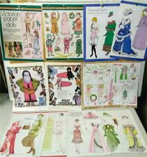 Vintage Paper Dolls*Victorian Christmas Collection*Cut-outs*Magazine Pages only