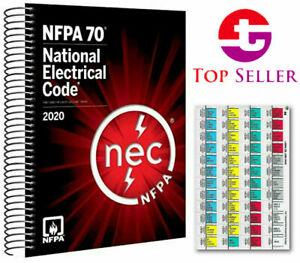 NFPA 70 National Electrical Code (NEC) 2020 Edition Paperback Book New
