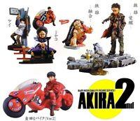 Raro Set 5 Figura Vehículos de Juguete Akira Parte 2 Originales KAIYODO Japan