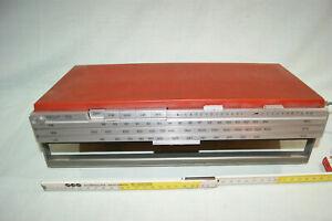 Bang & Olufsen BEOLIT 700 Design Kofferradio teildefekt mit Netzteil, Text lesen