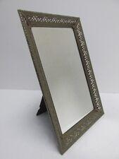 "Vintage Filigree Mirror/Dresser Tray 15"" x 10"""