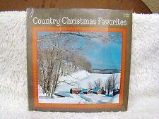 Country Christmas Favorites Vinyl Album, CBS Columbia Special Recs, Collectible