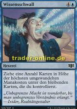4x Wissensschwall (Rush of Knowledge) Commander 2014 Magic
