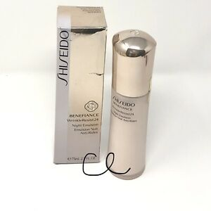Shiseido Benefiance WrinkleResist24 Night Emulsion 2.5oz 75 ml