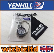 VENHILL Flexible Stainless Steel Tyre Pressure Gauge (0-60psi) With Bag VT32