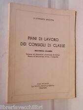 PIANI DI LAVORO DEI CONSIGLI DI CLASSE Geografia A Lombardo Angotta 1968 scuola