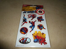 2 Sheets Of Spider-Man Glow In The Dark Stickers~Includes 18 Stickers~BRAND NEW
