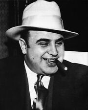 Gangster Mobster AL CAPONE Glossy 8x10 Photo Criminal Mob Criminal Print Poster