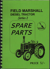 "Field Marshall ""Series 2"" Tractor Parts Book Manual"
