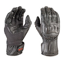 Akito Speedster Leather Motorbike Motorcycle Gloves Pre-curved Comfort Lining