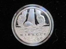 Miracle on the Hudson Silver clad Proof-Like - Miracle Pilot Captain Sully