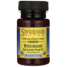 Swanson Methylcobalamin High Absorption B-12 2.5 mg 60 Tabs