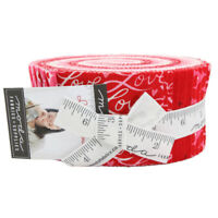 Moda Fabric Love Grows Jelly Roll - Patchwork Quilting 2.5 Inch Strips