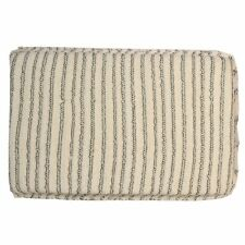 SM Arnold Cotton Striped Wax Applicator Sponge - Large, Dozen 85-526-12