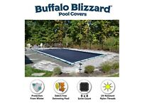 Buffalo Blizzard 30 x 50 Deluxe Rectangle Swimming Pool Winter Cover - 10 YR WTY
