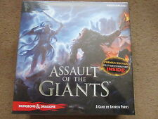 ASSAULT OF THE GIANTS PREMIUM ED 5E DUNGEONS DRAGONS BOXED NEW SEALED SW MINT