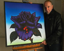 Thin Lizzy Black Rose Canvas Print from the original artist Jim Fitzpatrick
