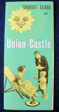 UNION-CASTLE LINE -- Tourist Class Brochure, 1956 -- 11 Ships!