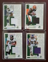 2003 SP Game-Used Jersey Cards  A. BRYANT-C. DILLON-F. TAYLOR-M. BENNETT (ALL 4)