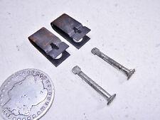 86 KAWASAKI KLF300 BAYOU LEFT/RIGHT FRONT BRAKE PAD/SHOE CLAMPS & PINS