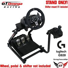 GT Omega Gaming WHEEL STAND PRO pour Logitech G920 Racing & Force Motrice Shifter