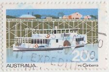 (DA1687) 1979 AU 20c ferries & steamers (G)