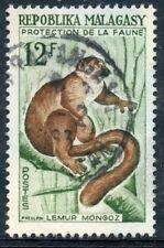 TIMBRE DE MADAGASCAR N°359 OBLITERE LEMUR MONGOZ