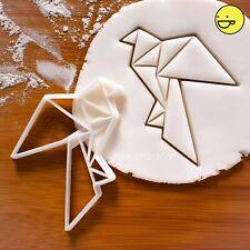 Origami Dove cookie cutter | bird birds peace love freedom biscuit