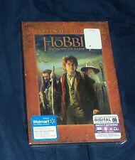 The Hobbit An Unexpected Journey DVD w Slipcover Walmart Exclusive 2-Disc SE NEW