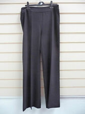 Flared Viscose 32L Trousers Tailored for Women