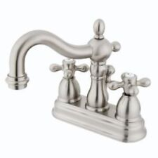 Satin Nickel Bathroom Sink Faucet Faucets New KB1608AX