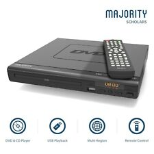 Compact DVD Player HDMI Upscaling USB Multi Region DivX