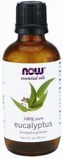 Now Foods Essential Oils, Eucalyptus Oil - 2 oz - Aromatherapy