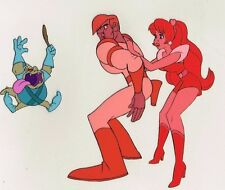 SPACE ACE ~ KIMBERLY ~ Animation Production CEL 1984 Video Game