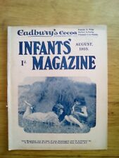 CADBURY'S COCOA - PARTRIDGE - THE INFANTS' MAGAZINE N°476 - 1905 - RARE