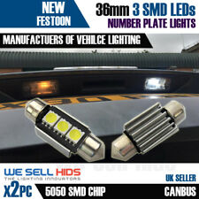 CANBUS LED 36mm 5050 SMD AUDI A2 A3 A4 A6 A8 Q7 239 272 NUMBER PLATE NO ERROR
