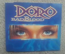 DORO / WARLOCK BAD BLOOD GERMAN COLLECTORS EDITION 3 TRACK MAXI CD 1993 RARE !