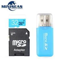 Carte Mémoire Micro SD 32 GO+ Adaptateur SD + Clé USB Adaptateur