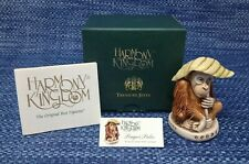 Harmony Kingdom Pongo's Palm Tjor2 Orangutan Treasure Jest Mint in Box