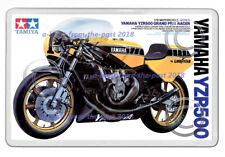 TAMIYA YAMAHA YZR500 BOX ARTWORK NEW JUMBO FRIDGE LOCKER MAGNET