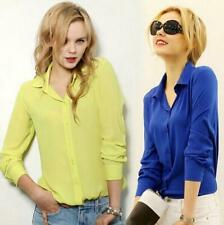 Work Wear  Women Elegant  Formal Office Blouse 5 Colors