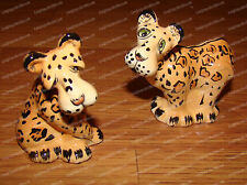 Leopard's Ceramic Salt & Pepper Shakers (Ark Safari by Westland, 20211)