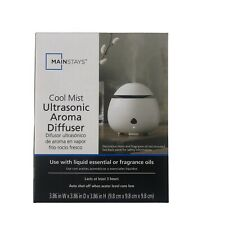 Mainstays Cool Mist Ultrasonic Aroma Diffuser For Use With Liquid Essential Oils