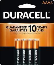 8 Pack Duracell AAA Alkaline Batteries