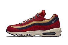 Nike Air Max 95 PRM Red Crush/Wheat Gold Sample 538416-603 UK8/EU42.5/US9