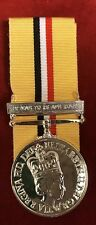 FULL SIZE OPERATION TELIC IRAQ MEDAL WITH BAR SUPERB
